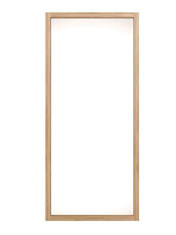 Lf miroir ethnicraft avec cadre en bois disponible en for Miroir avec cadre miroir