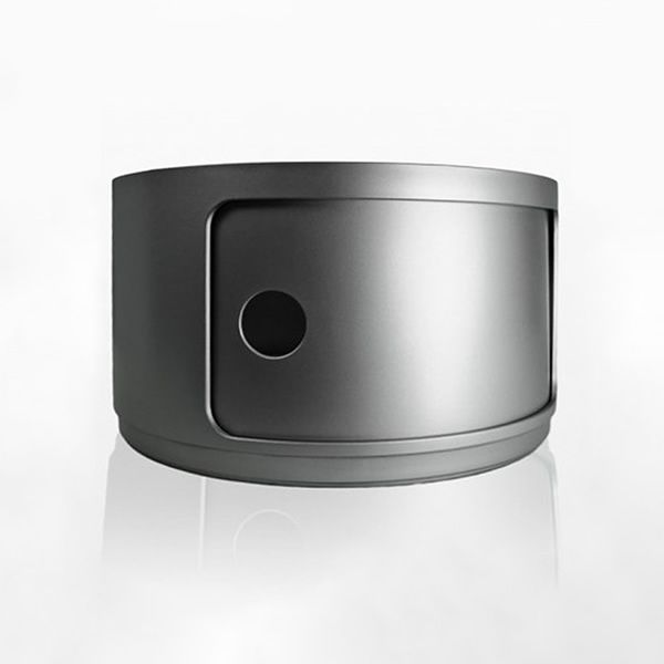 Mobili In Plastica Componibili.Componibili 4953 Contenitore Kartell Di Design In Abs Con Anta