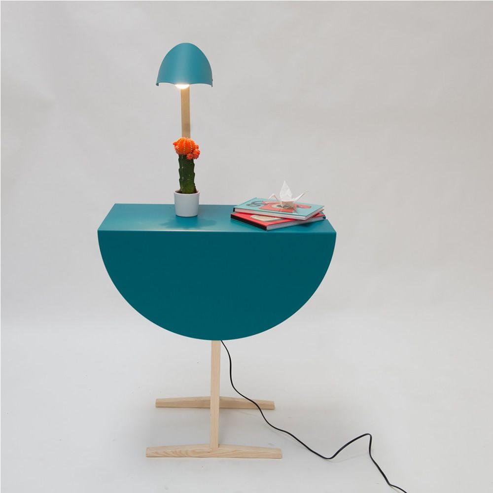 Ostrich table basse table de chevet valsecchi en bois et for Lampe de chevet nature