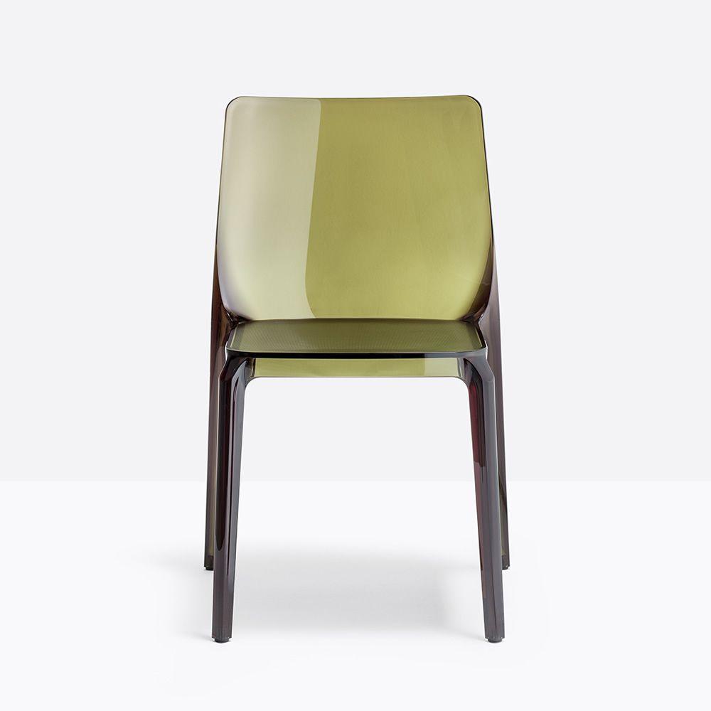 Blitz 640 - Sedia Pedrali di design in policarbonato, impilabile ...