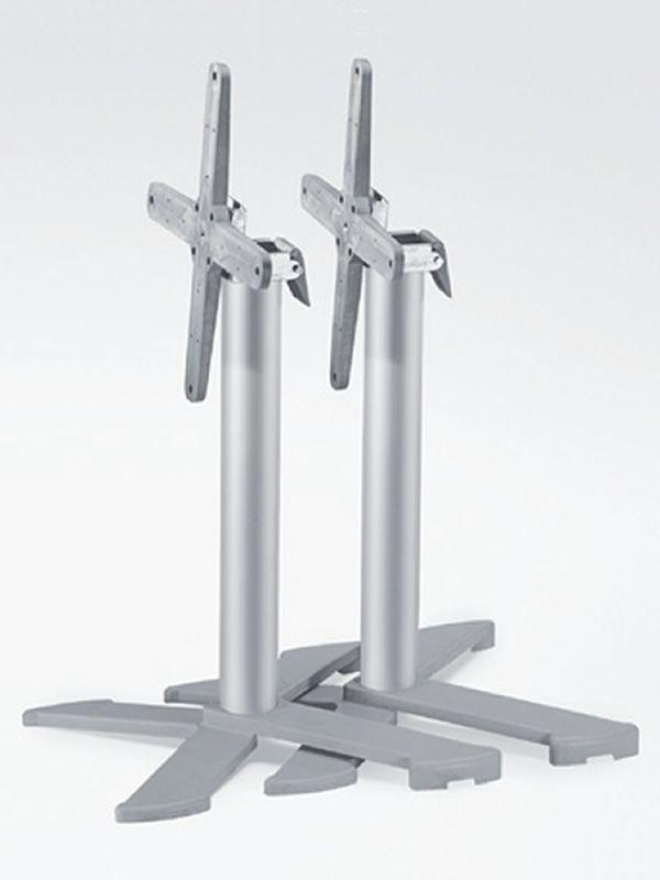 pieghevole f r bars und restaurants untergestell f r stabelbaren klapptisch aus aluminium. Black Bedroom Furniture Sets. Home Design Ideas
