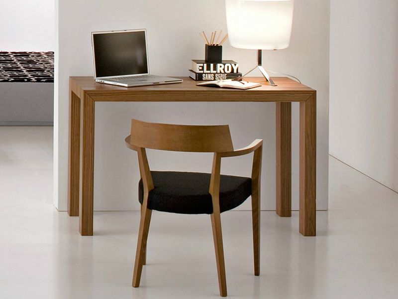 Cs4045 modern x mesa consola calligaris de madera 60 x for Mesa 60 x 60 extensible