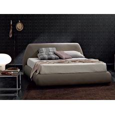 Belmondo - Padded double bed, several coverings, also with storage box