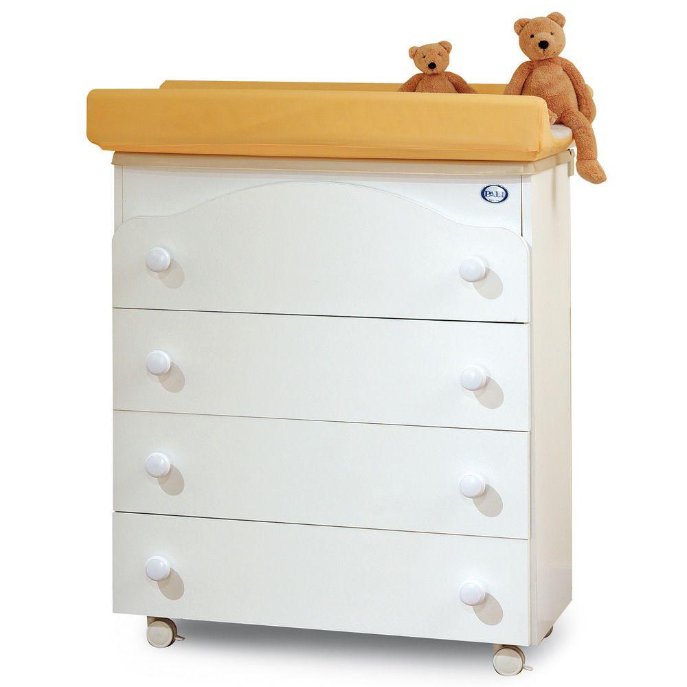 Four baignoire table langer pali avec 3 tiroirs for Meuble baignoire bebe
