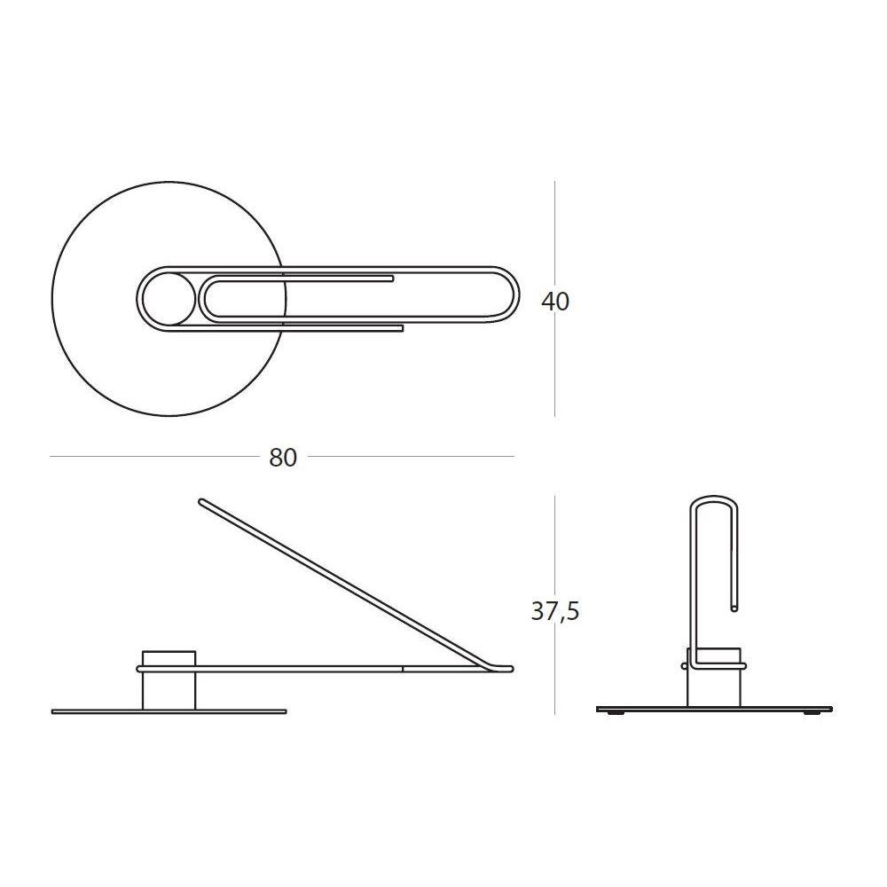 etta fahrradst nder aus metall sediarreda. Black Bedroom Furniture Sets. Home Design Ideas