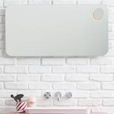 Acqua - Specchio rettangolare disponibile anche con luce