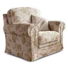 Artemide armchair - Poltrona classica, completamente sfoderabile, disponibile con rivestimento in tessuto o similpelle