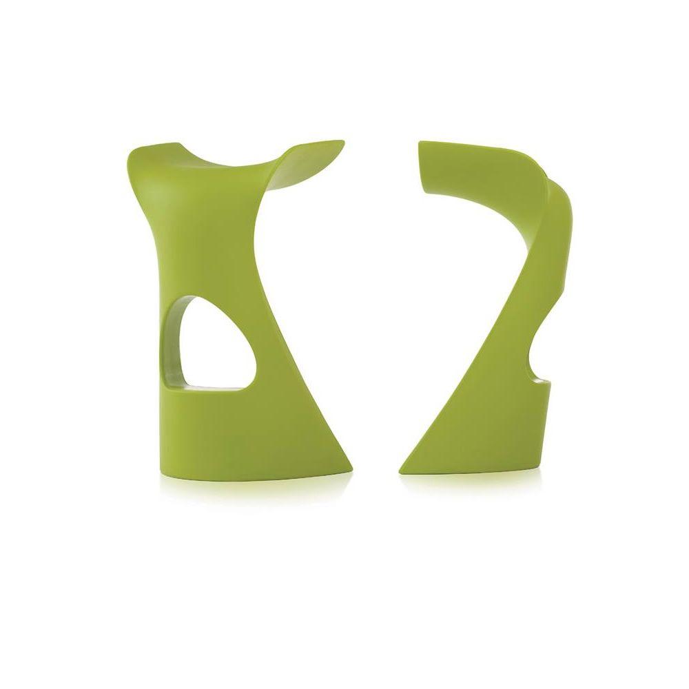 Koncord sgabello slide in polietilene diversi colori for Sgabello verde