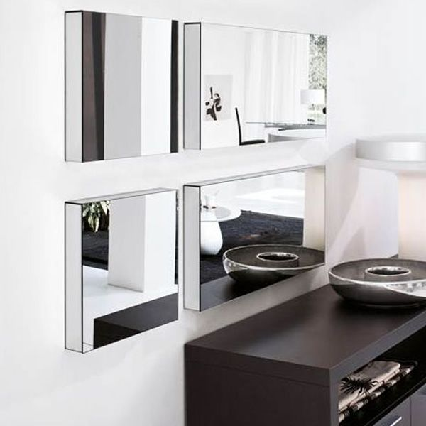 7518 ryde r rectangular mirror by tonin casa different for Different sized mirrors