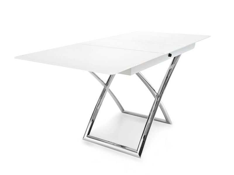 cb5041 g magic j table rallonge et rglable en hauteur en mtal - Table Reglable En Hauteur Avec Rallonge
