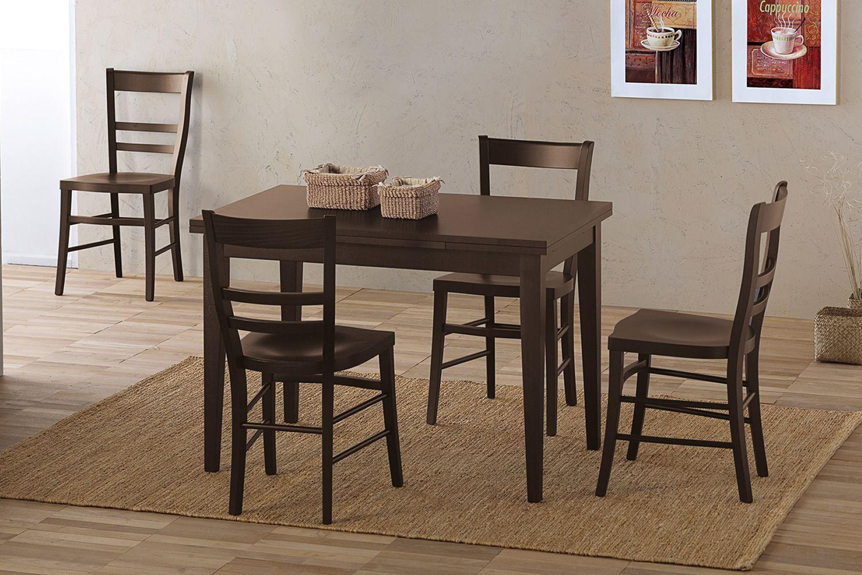 rustikaler stuhl aus holz mit sitzfl che aus schichtholz viele farben 120 sediarreda. Black Bedroom Furniture Sets. Home Design Ideas