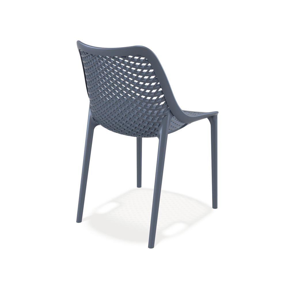 Tt1050 sedia da giardino in polipropilene e fibra di - Sedie da esterno ...