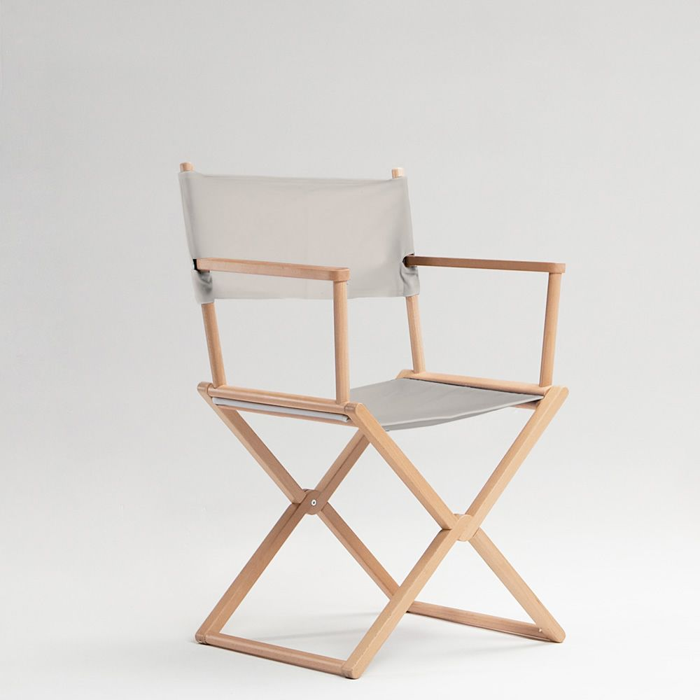 Treee set chair silla director de cine en madera machiza - Sillas director madera ...