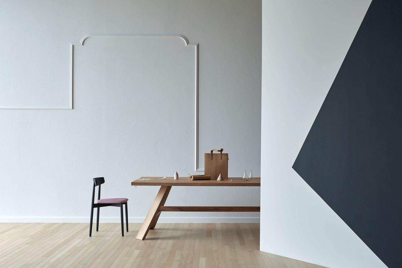 Artigiano tavolo rettangolare miniforms in legno for Piani di casa artigiano personalizzato