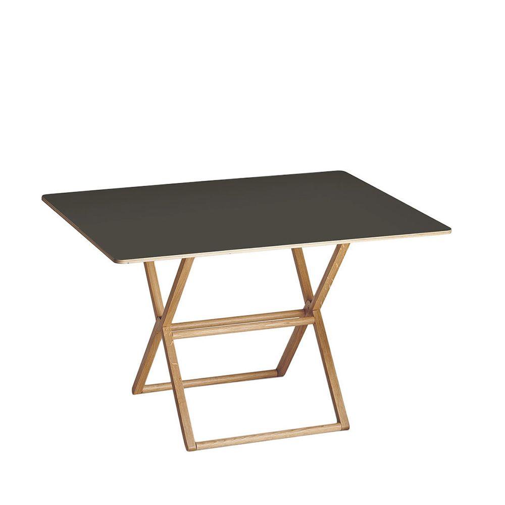 Treee dinner table design pliante plateau 120x90 cm for Table pliante design