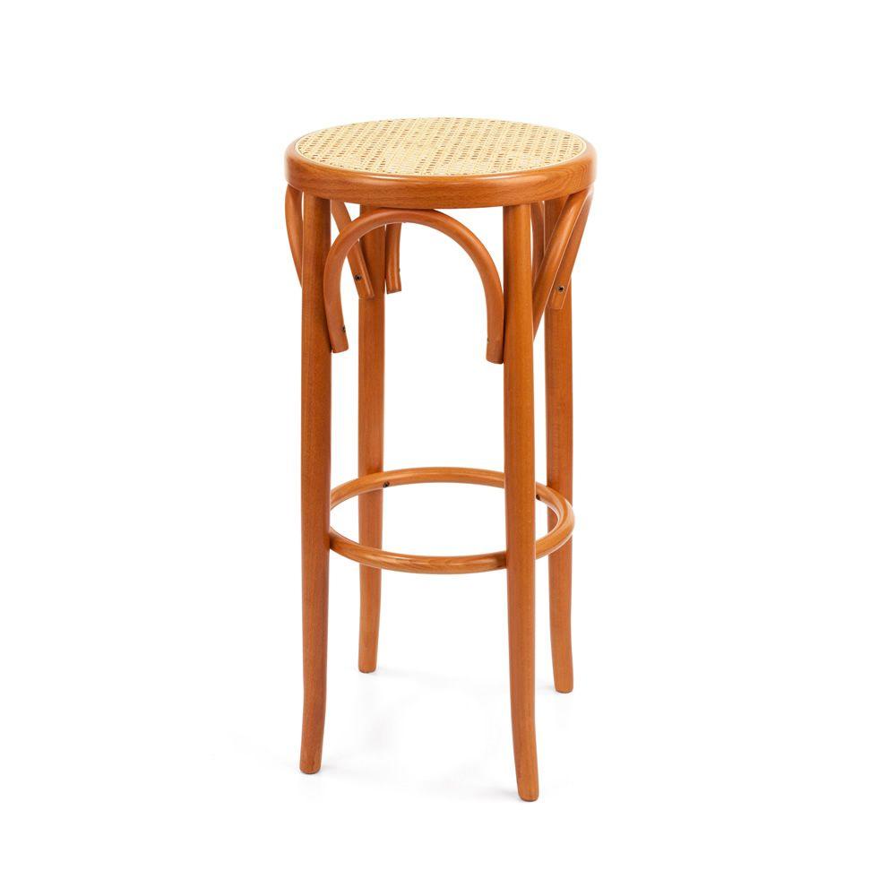 Se72h taburete vien s de madera asiento en paja en - Taburetes de madera ...