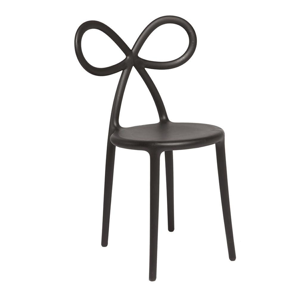 Ribbon chair sedia di design qeeboo con schienale a - Sedia di design ...