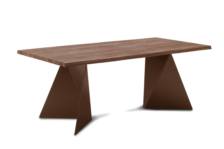 Euclide f feststehender tisch domitalia aus metall for Tisch aus marmor