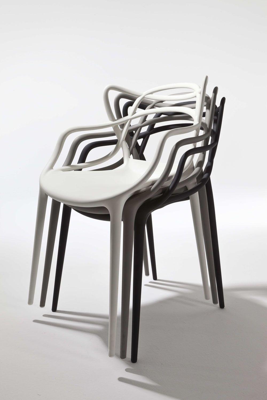 Masters Poltroncina Kartell Di Design In Polipropilene