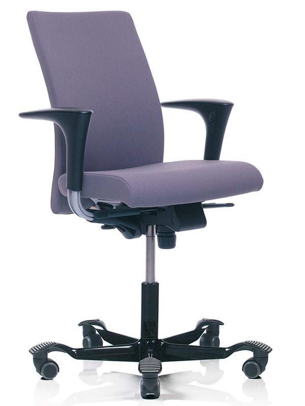 H04 chaise de bureau ergonomique h g dossier en - Chaises de bureau ergonomiques ...