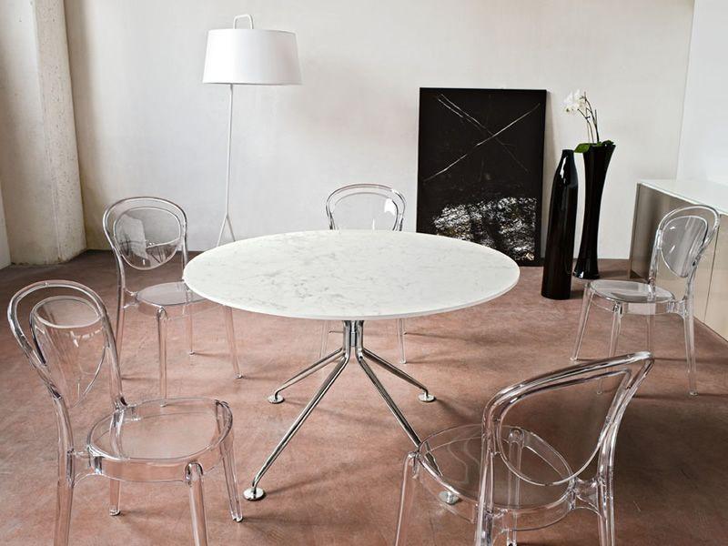 Cs1263 parisienne per bar e ristoranti sedia da bar in for Sedie in policarbonato