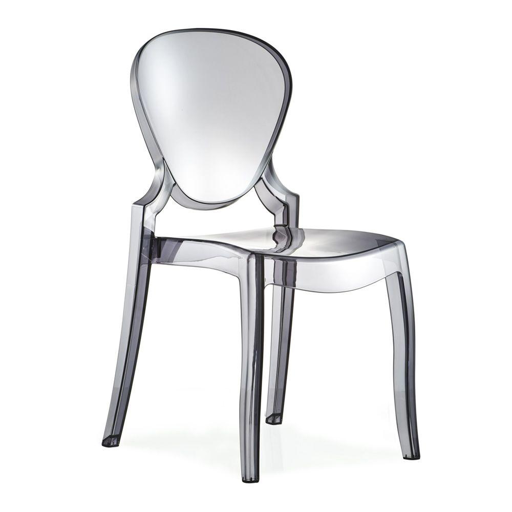 Queen 650 sedia pedrali di design in policarbonato - Sedia di design ...