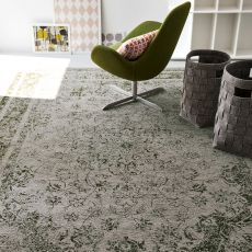 7142 Odessa - Calligaris oriental rug in cotton and chenille, different colours available, 200 x 300 cm