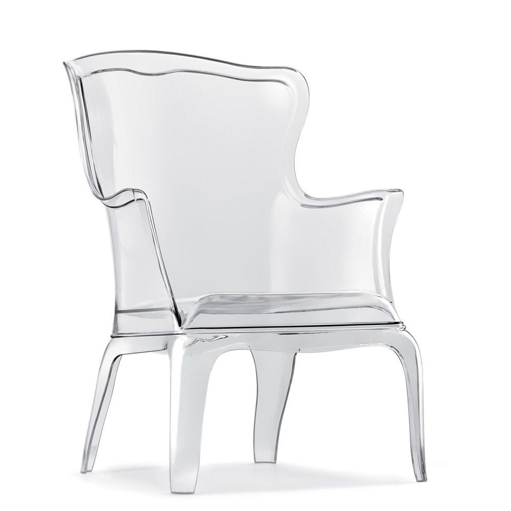 pasha 660 fauteuil pedrali de design en polycarbonate. Black Bedroom Furniture Sets. Home Design Ideas