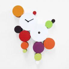 Cucuball - Orologio da parete a cucù in legno, diversi colori disponibili