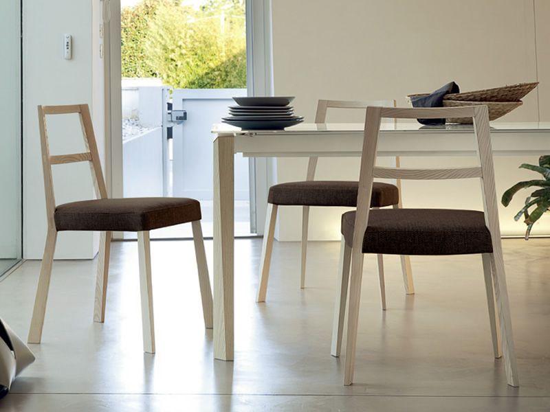 Torque sedia domitalia in legno seduta imbottita e - Color fango abbinamenti ...