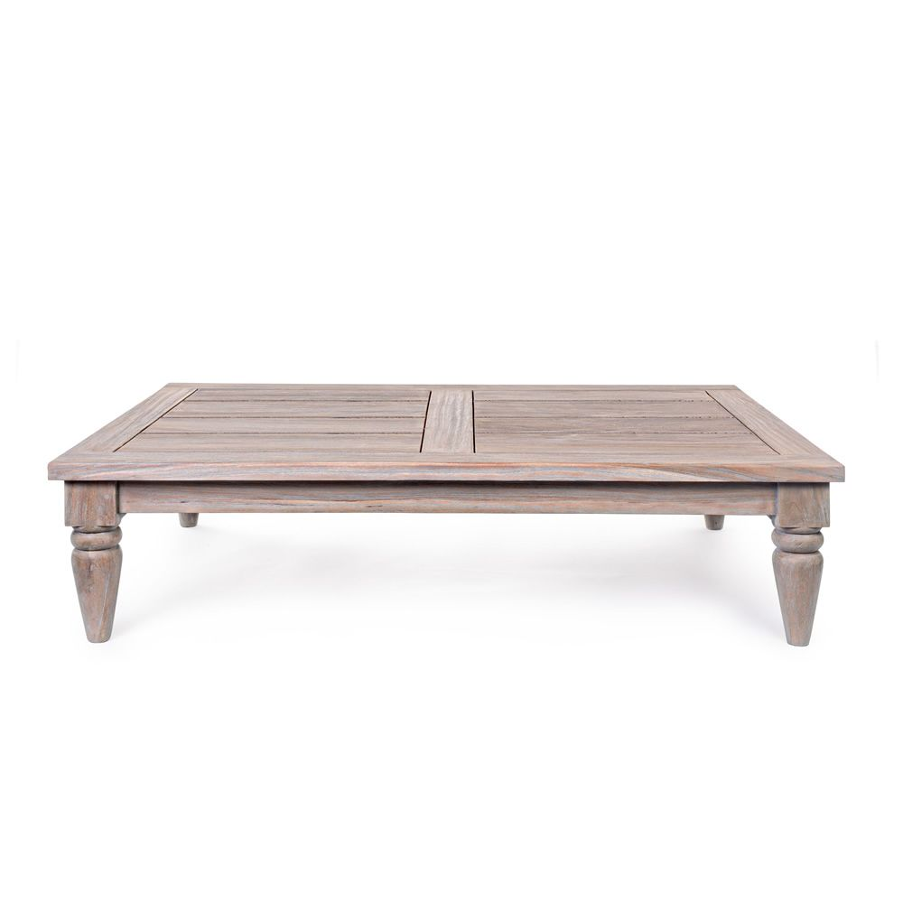 Simi set set de jardin en bois de teck fsc 2 fauteuils for Set table jardin