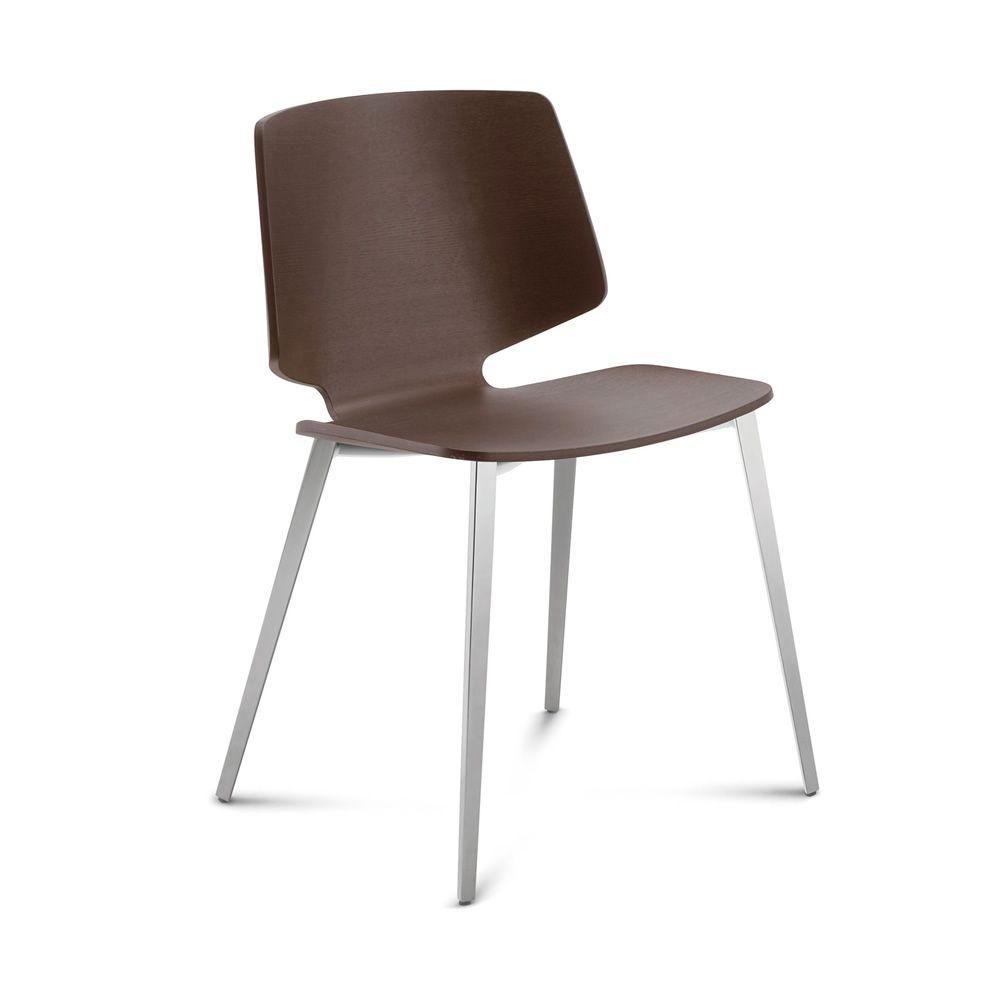 fly tr pour bars et restaurants chaise en m tal assise en bois stratifi ou rev tue en tissu. Black Bedroom Furniture Sets. Home Design Ideas