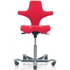 Capisco ® 8106 - Silla ergonómica de HÅG para oficina con asiento en forma de sillín, varios colores