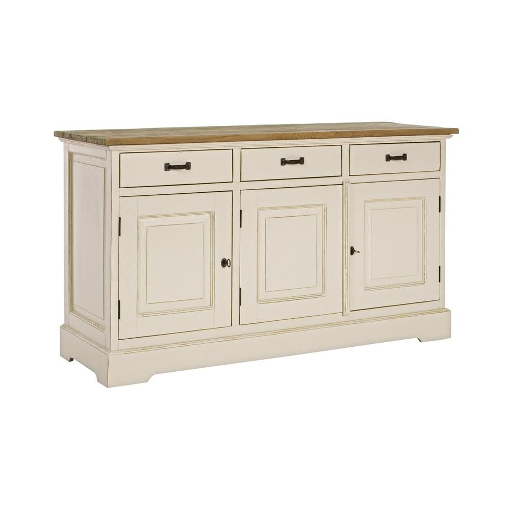 Johannesburg m shabby chic sideboard in indonesian wood for Sideboard shabby