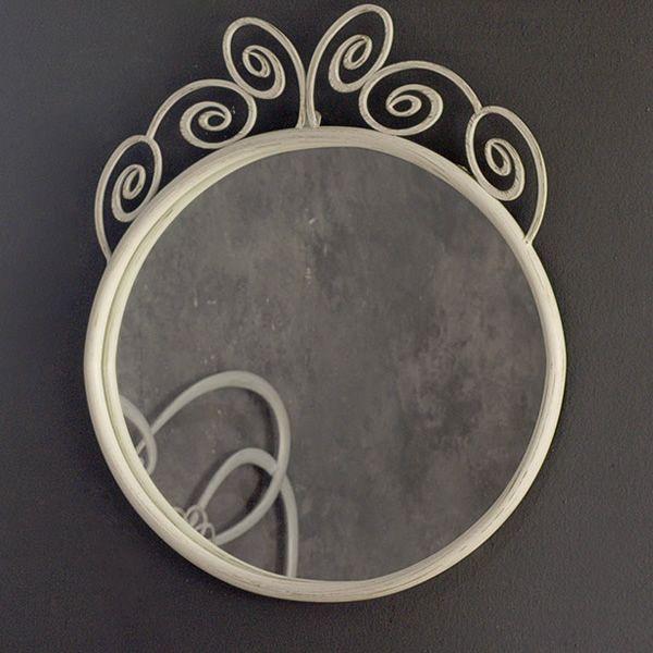 Klimt o specchio in ferro disponibile in diversi colori for Specchio in ferro battuto
