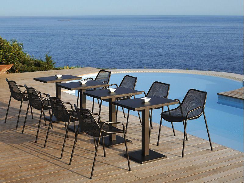 Round T Pour Bars Et Restaurants Table Emu En M Tal