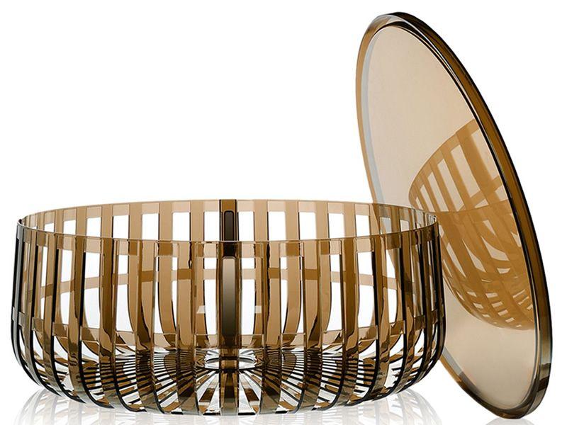 panier design zeitungsst nder couchtisch von kartell aus polycarbonat viele farben auch f r. Black Bedroom Furniture Sets. Home Design Ideas