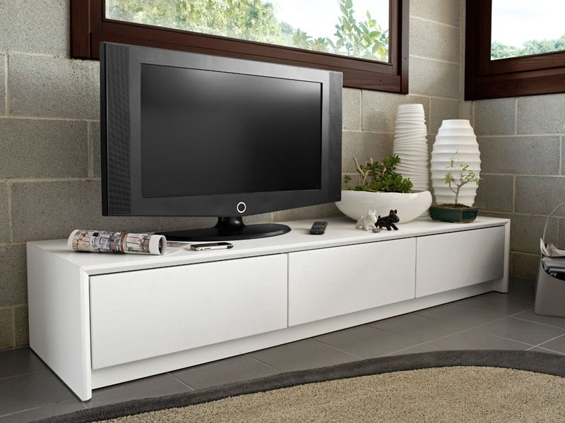 Cb6031 5 password mobile porta tv cassettiera connubia calligaris in legno laccato tre - Calligaris porta tv ...