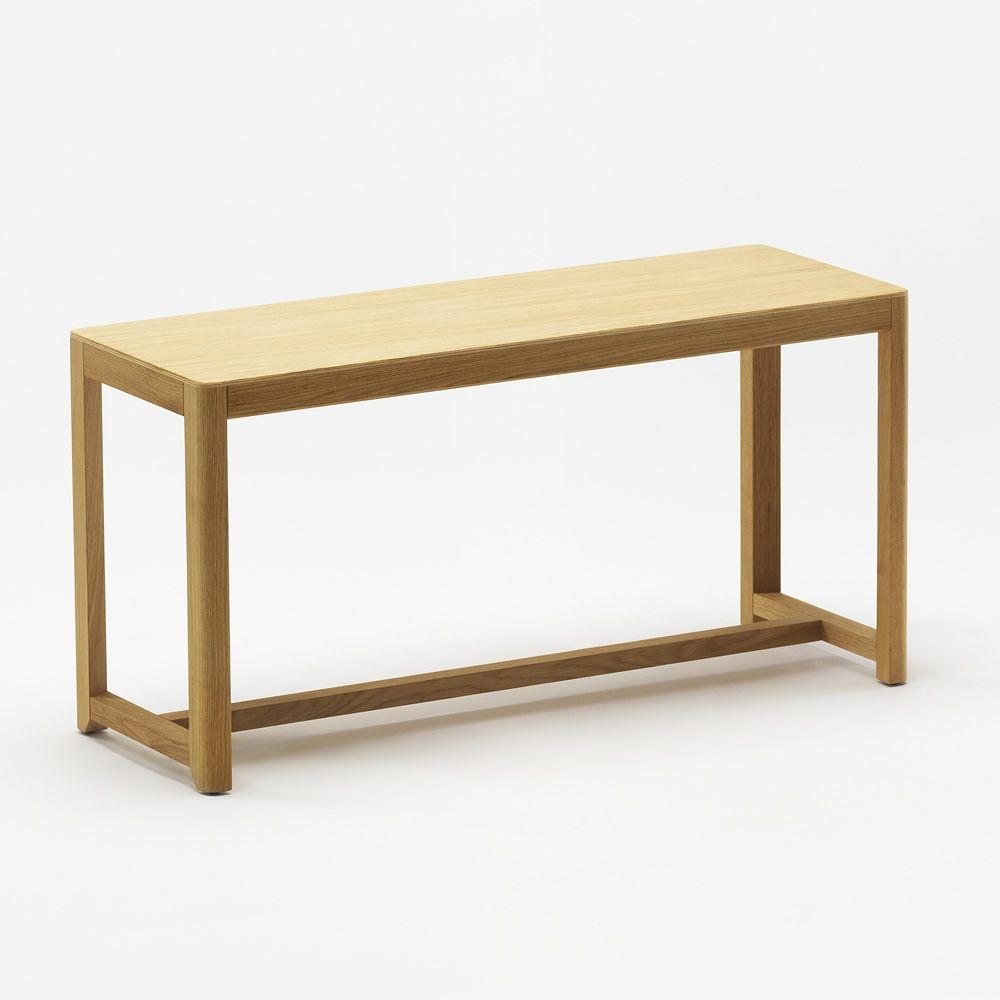 seleri bench - sitzbank aus eichenholz, mit sitz aus holz oder mit