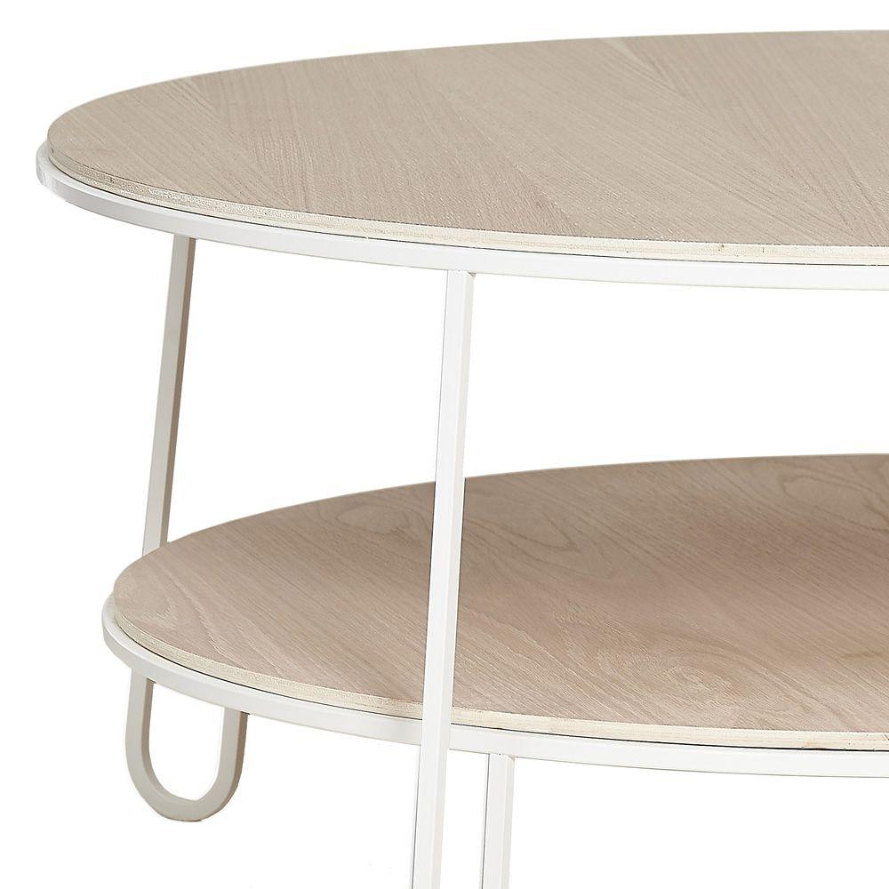 eug nie beistelltisch aus metall und holz sediarreda. Black Bedroom Furniture Sets. Home Design Ideas