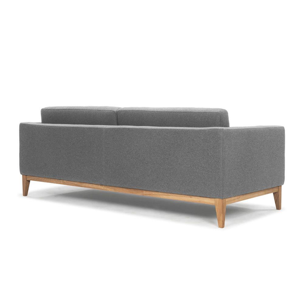 Day - Sofa mit Gestell und Beine aus Holz, gepolstert und ...