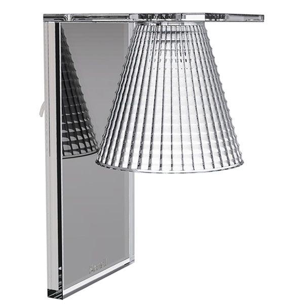 Light air a kartell wall lamp led in technopolymer several light air a kartell wall lamp crystal aloadofball Images