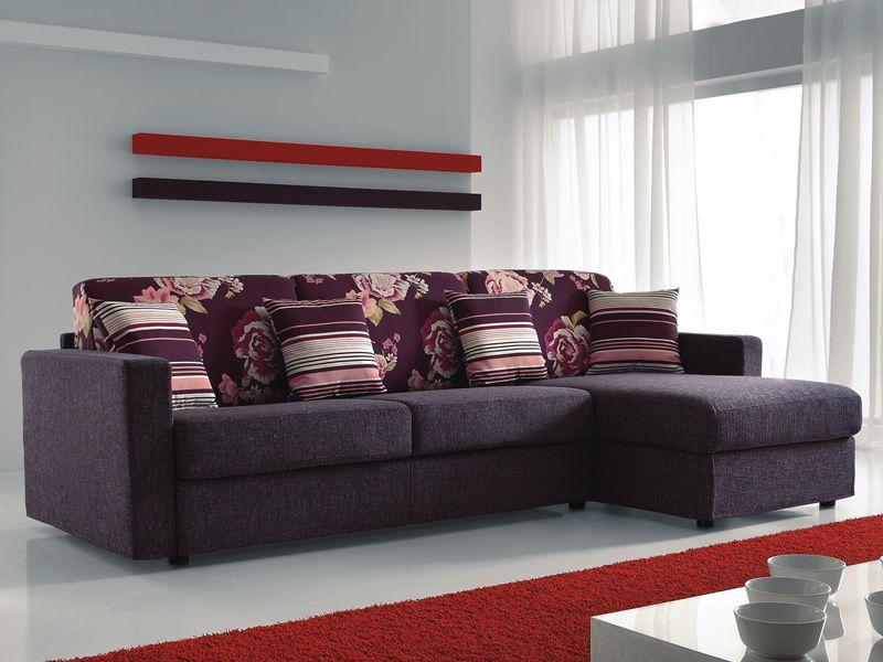 Leo sof cama de 2 o 3 plazas maxi con chaise longue for Sofa cama 2 plazas chaise longue