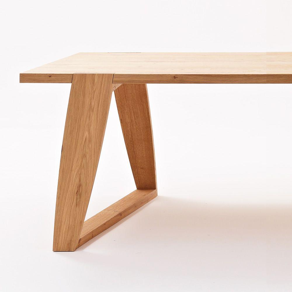 Mad tavolo colico design in legno fisso e rettangolare for Tavolo eclipse legno di ozzio design
