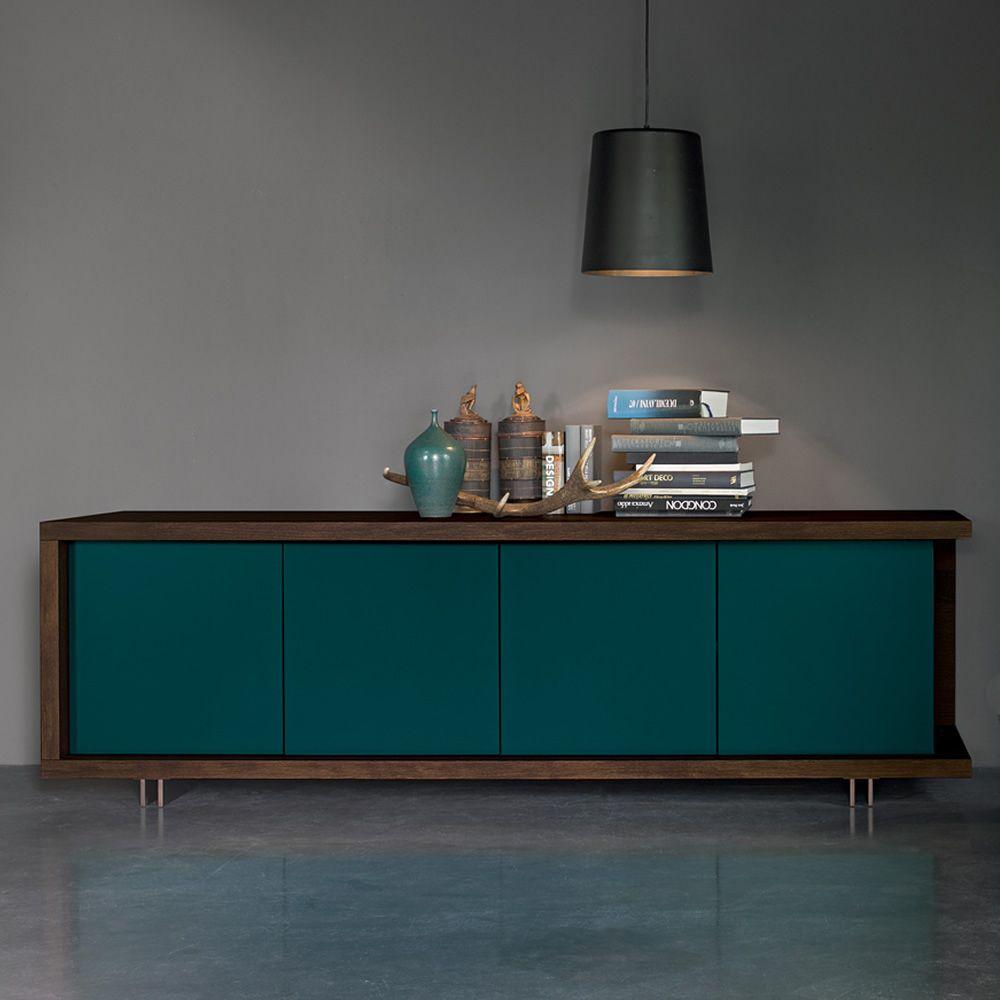 frame anrichte dall 39 agnese aus metall und furnierholz in. Black Bedroom Furniture Sets. Home Design Ideas