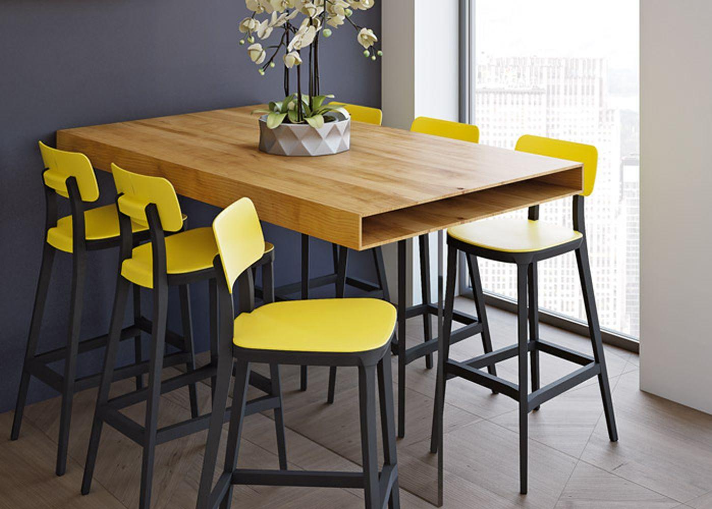 Porta venezia stool per bar e ristoranti sgabello in legno