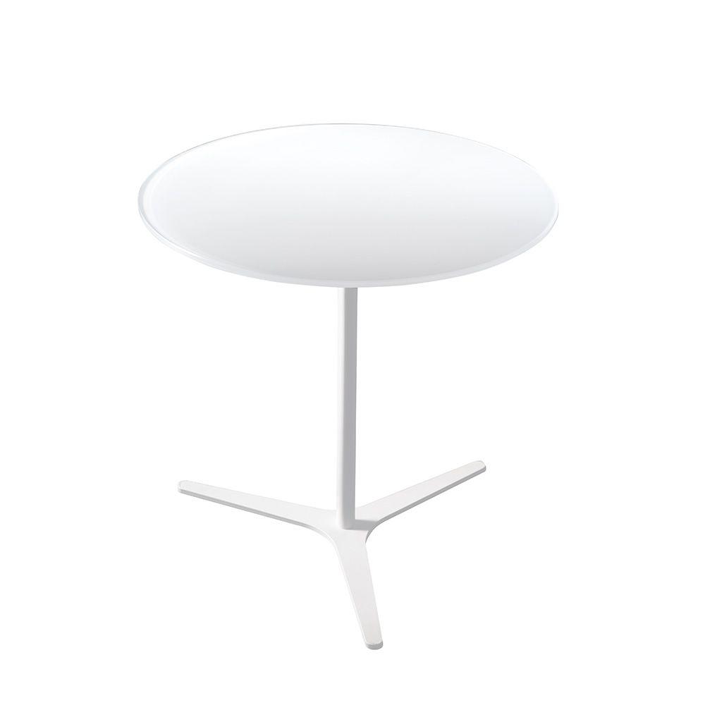 Elica - Tavolino di desing Bontempi Casa, con struttura in metallo e piano in...