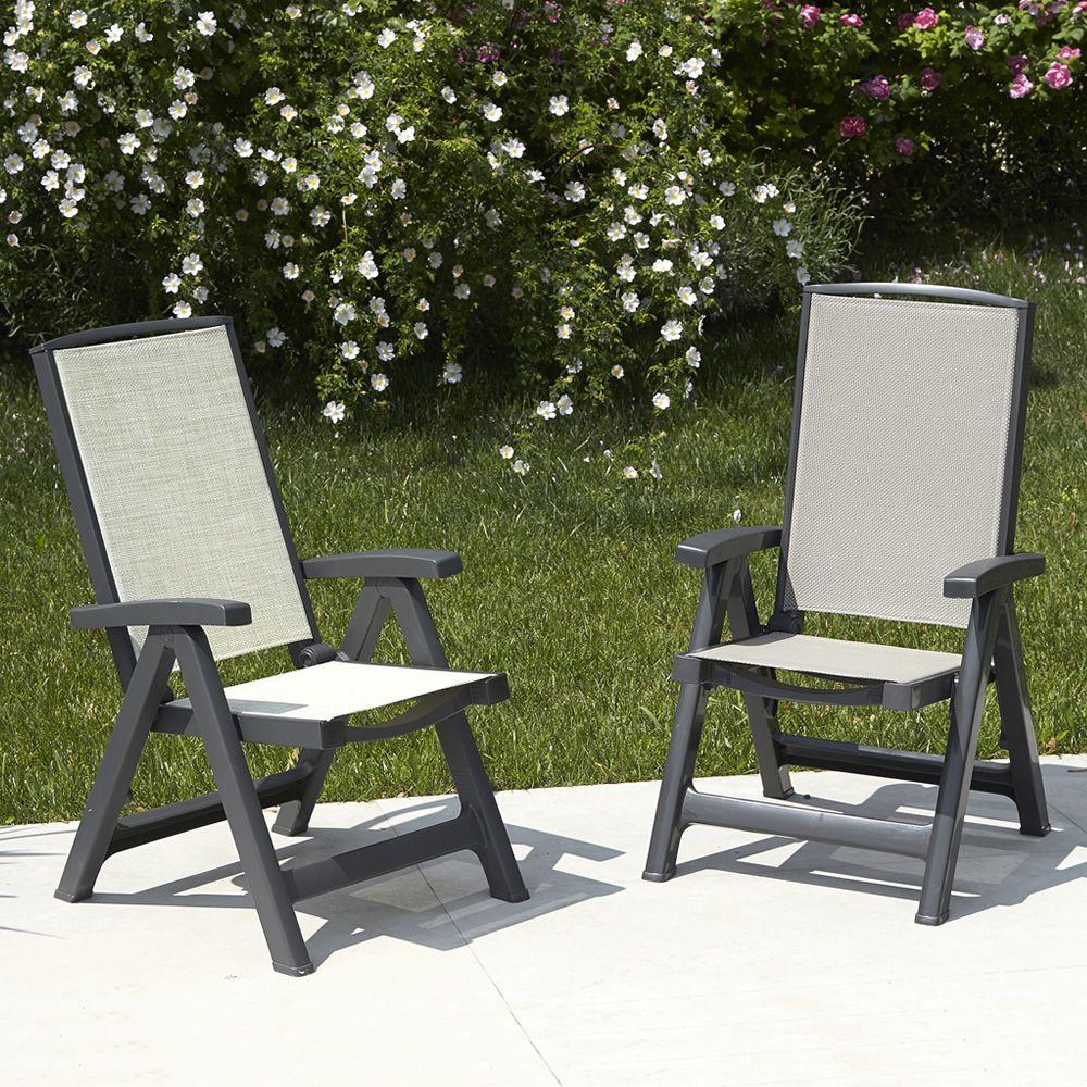esmeralda lux 2067 chaise longue en polypropyl ne assise et dossier en tissu hydrofuge. Black Bedroom Furniture Sets. Home Design Ideas