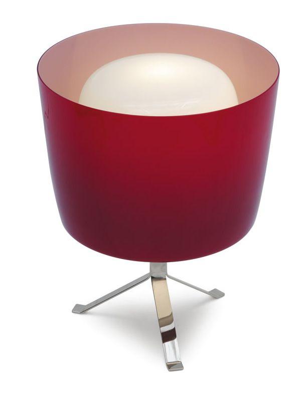 Cs8003 t phoenix lampada da tavolo calligaris in for Tavolo vetro bianco calligaris