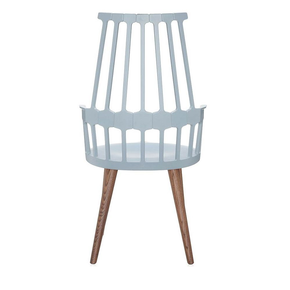 Comback 5954 sedia kartell di design in legno e for Kartell binasco